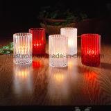 Sostenedor de vela del vidrio cristalino de la alta calidad