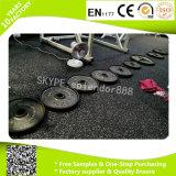 El caucho se divierte el suelo para las esteras del centro de aptitud de la gimnasia