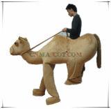Grande costume della mascotte del cammello dei piedini dell'imitazione quattro di disegno su