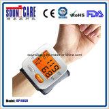 Aprovaçã0 do Ce FDA com medidor da pressão sanguínea do pulso do luminoso (BP 60GH)