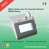Laser médical de diode du déplacement 980nm de veine de l'araignée Rbs03