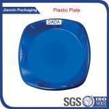 Buntes Wegwerfplastikplatten-Tellersegment