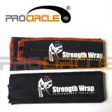 L'appui de poignet de levage de poids de coton enveloppe la courroie de poignet (PC-WW1005)