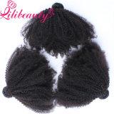Afro человеческих волос Remy девственницы 100 процентов малайзийский Kinky