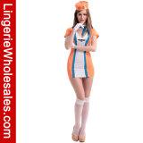 Costume женское бельё классицистического Stewardess полета сексуальный для женщин