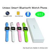 Telefono astuto unisex della vigilanza di Bluetooth con la macchina fotografica 0.3m (G11)