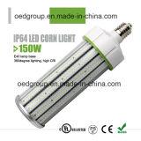 luz PF>0.9 Dust-Proof impermeável CRI>80 do milho do diodo emissor de luz 150W com tempo longo e boa dissipação de calor