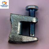 Гальванизированная томительноая-тягуч струбцина верхнего луча веек стальной трубы