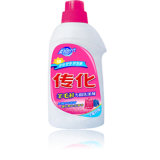 Blanqueador líquido de tela blanca de lavado de detergente