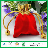 Промотирование рекламируя мешки подарка бархата