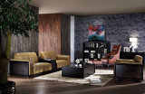 Sofá secional do couro elegante moderno novo da sala de visitas do projeto 2016 (HC8118)