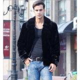 Kurze Revers-Pelz-Umhüllung für Kleidung des Mannes