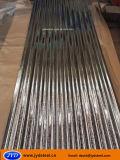 Hierro/hoja/placa galvanizados acanalados G550 de la azotea del acero/del metal a África