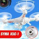 6 rtf 2MP HD Camera Syma X5c-1 Drone di asse 2.4GHz RC con Battery e Charger