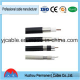 2017 cable coaxial coaxial de los cables RG6