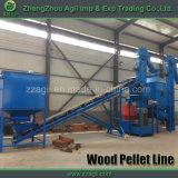 Chaîne de production en bois professionnelle de pelletisation de l'approvisionnement 1ton 2ton d'usine