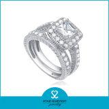 10 Jahre Hersteller-Fein 925 Sterling Silber Ring (R-0136)