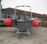 中国Aqualand 19FT 5.8mの肋骨の哨戒艇か堅く膨脹可能なダイビングのボートまたは救助艇(rib580t)