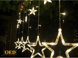 El centelleo LED Stars la lámpara del día de fiesta de la luz de la cortina de la lámpara LED de la decoración de la boda del surtidor de China