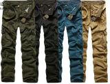 Da carga ocasional fresca militar da forma do Mens calças longas