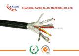 Провод 2*1.5sqm термопары KX с изоляцией PVC и экран Almylar с проводом стока