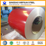 HDG/Gi/Secc Dx51亜鉛冷間圧延されるか、または熱い浸された電流を通されたPPGIのカラーによって塗られる鋼鉄コイル