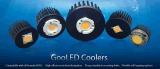 알루미늄은 위조했다 크리 사람 모듈 (GooLED-11080)를 위한 LED 열 싱크를