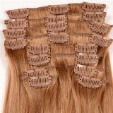 Человеческие волосы 100% Remy нового выдвижения волос зажима волос девственницы прибытия бразильские