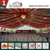 tenten van de Partij van 20X50m de Openlucht met de Decoratie van de Voering voor het Overleg van de Muziek