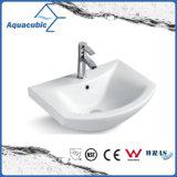 Halb-Vertiefte Badezimmer-keramische Schrank-Bassin-Handwaschende Wanne (ACB8160)