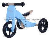 '' hölzernes Fahrrad 2 des Ausgleich-7 in 1 Blau
