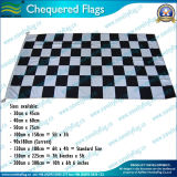 indicateurs Chequered de 180X90cm/indicateur noir et blanc (T-NF05F09005)