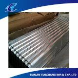 Farbe beschichtetes galvanisiertes gewölbtes Stahldach