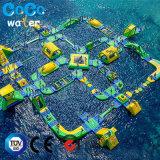 PVC 145人のための膨脹可能な水公園の組合せ装置