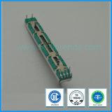 ohm linéaire du potentiomètre 50k de glissière de 60mm pour l'amplificateur