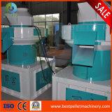 Machine en bois de boulette de cosse de riz de paille de sciure de moulin de boulette de biomasse