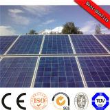 Портативная легкая установка с решетки и связанной решеткой солнечной электрической системы
