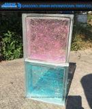 Tijolo de vidro retro de bloco de vidro para a parede do banheiro ou da cozinha