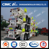 Cimc Huajun 40FT 2axle Skeleton Terminal Semi-Trailer