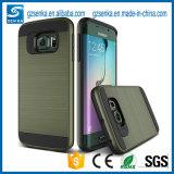 Caja Smartphone del satén del cepillo para la caja de la galaxia S7 de Samsung