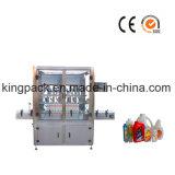 Máquina de enchimento Full-Automatic da água mineral de exatidão elevada de seis bocais
