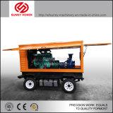 Bomba de água Diesel da venda quente para o controle de inundação com a caixa do reboque/tempo