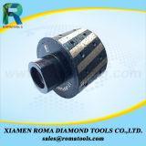 Rodas de trituração da tolerância zero das ferramentas do diamante de Romatools para a borda de pedra de lustro