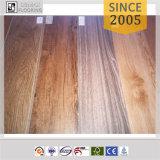 Plancher en bois de cliquetis de PVC de vinyle de mode européenne