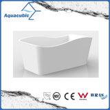 Vasca da bagno acrilica indipendente bianca della stanza da bagno (AB1552W)