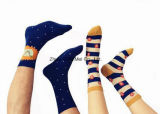 Socks d'hommes de couleurs légères de loisirs de mode de vente en gros de fournisseur d'usine de Madame