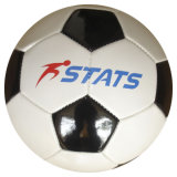 Machine-Sewn Colorful imprimé Youth PVC Leather Soccerball