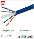 주식에 있는 자료 통신 케이블 UTP CAT6