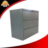 Governo laterale dell'ufficio d'acciaio con il cassetto 3