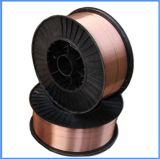二酸化炭素のガスの盾の銅上塗を施してある固体ミグ溶接ワイヤーEr70s-6